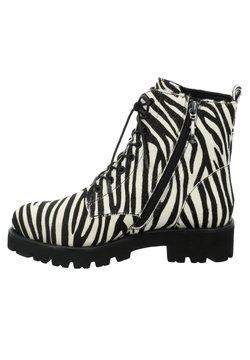Tizian - BOSTON - Schnürstiefelette - zebra