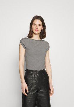 Anna Field - T-Shirt print - white/black