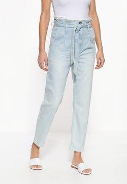 Amor, Trust & Truth - MIT STREIFENMUSTER MOON - Jeans Slim Fit - hellblau