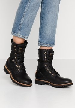 Panama Jack - ROUTE BOOT IGLOO TRAVELLING - Bottines à lacets - black