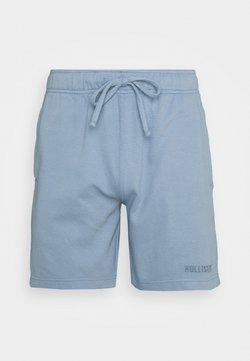Hollister Co. - LOUNGE BOTTOM OTTOMAN SHORTS - Bas de pyjama - faded denim