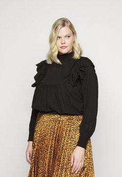 Vero Moda Curve - VMIMPI TOP - Bluse - black