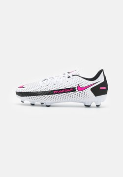 Nike Performance - JR PHANTOM GT ACADEMY FG/MG UNISEX - Fotballsko - white/pink blast/black