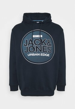 Jack & Jones - JCOBOOSTER - Sweat à capuche - navy blazer