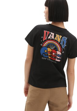 Vans - SKELEBOW - T-shirt print - black