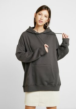 Nly by Nelly - OVERSIZED HOODIE - Kapuzenpullover - off black