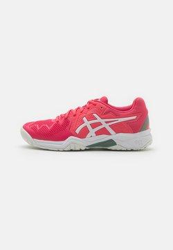 ASICS - GEL-RESOLUTION 8 UNISEX - Zapatillas de tenis para todas las superficies - pink cameo/white