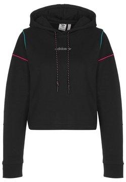 adidas Originals - Jersey con capucha - black