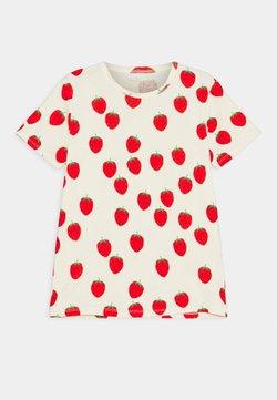 Mini Rodini - STRAWBERRY TEE UNISEX - T-shirt print - offwhite