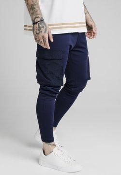 SIKSILK - Cargo trousers - navy