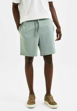 Selected Homme - Szorty - chinois green