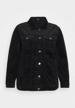 Simply Be - OVER SIZED WESTERN JACKET - Summer jacket - black