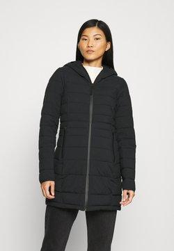 Abercrombie & Fitch - PUFFER - Classic coat - black