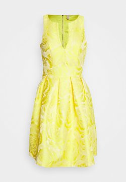 YAS - YASMINNIE DRESS SHOW - Cocktailkleid/festliches Kleid - vibrant yellow