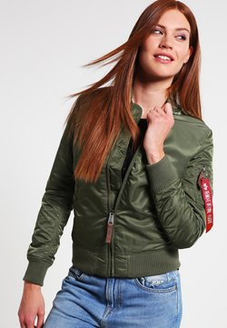 Alpha Industries - Giubbotto Bomber - sage green