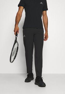 adidas Performance - TENNIS PANT - Spodnie treningowe - black/grey