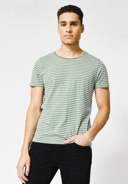 America Today - TOOK - T-Shirt basic - white/green