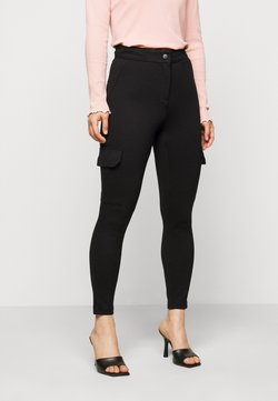 Vero Moda Petite - VMAIDY  - Pantalon classique - black