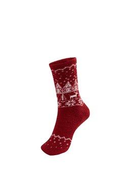OYSHO - REINDEER  - Socken - red