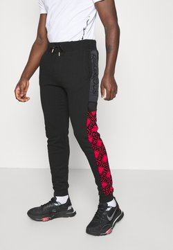 Glorious Gangsta - GALVEZ JOGGER - Jogginghose - black /red