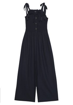 Simply Be - COLD SHOULDER - Combinaison - navy