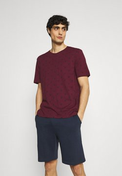 Pier One - Pyjama - bordeaux/dark blue