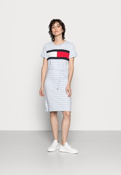 Tommy Hilfiger - SUMMER FLAG - Jersey dress - classic brenton/breezy blue