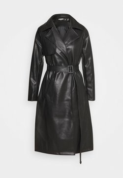 Missguided Petite - Trench - black