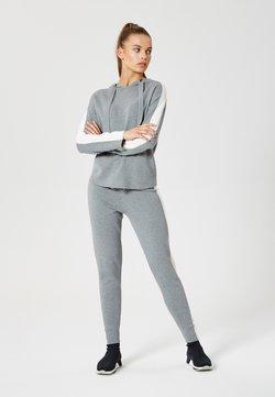 Talence - 2 PIÈCES - Trainingsanzug - gris blanc