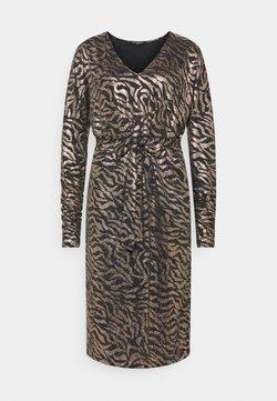 Ilse Jacobsen - DRESS SHORT - Cocktailklänning - platin/black