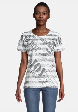 Cartoon - T-Shirt print - weiß/schwarz