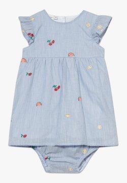 Name it - NBFDENISE DRESS BLOOMER SET - Freizeitkleid - dazzling blue