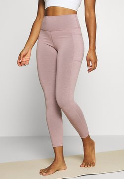 Sweaty Betty - SUPER SCULPT 7/8 YOGA LEGGINGS - Medias - velvet rose/pink