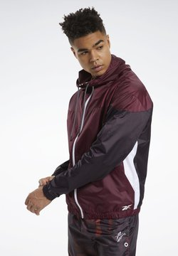 Reebok - MYT JACKET - Windbreaker - burgundy