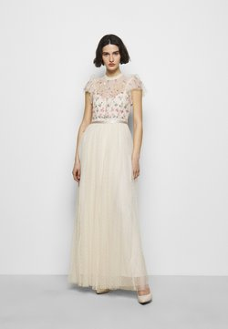 Needle & Thread - ROCOCO BODICE MAXI DRESS - Occasion wear - champage