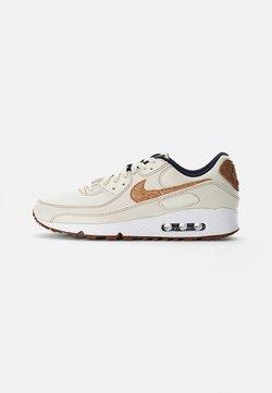 Nike Sportswear - NIKE AIR MAX 90 - Sneakers laag - coconut milk/wheat-obsidian-white