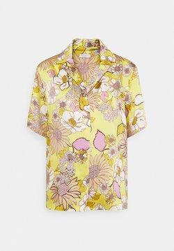 sandro - Hemdbluse - jaune/lilas