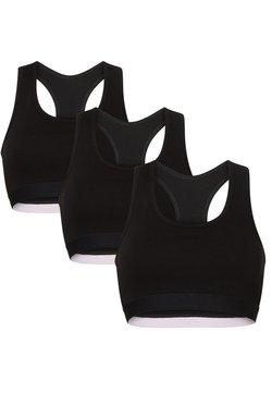 Danish Endurance - 3 PACK - T-shirt BH - black