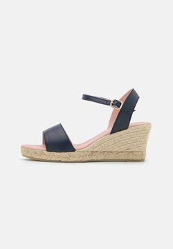 Pretty Ballerinas - Korkeakorkoiset sandaalit - navy