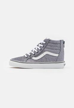 Vans - SK8 ZIP - Sneakersy wysokie - glitter pewter/true white