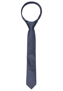 Calvin Klein - GEO CONTRAST TIE - Krawatte - light blue