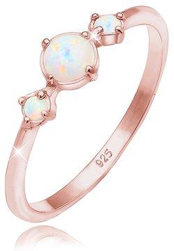 Elli - GEO TRIO TREND - Ring - rose gold