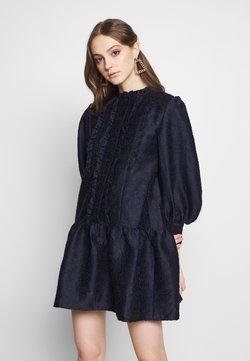 Sister Jane - PEONY SMOCK DRESS - Vestido de cóctel - navy blue
