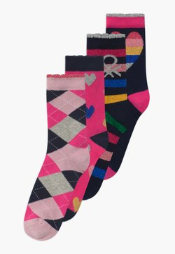 Benetton - LUTK FASHION 4 PACK - Calcetines - multi-coloured