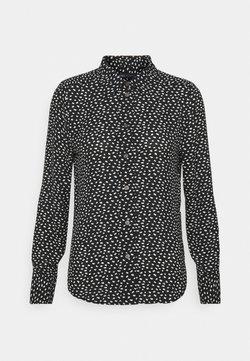 Marks & Spencer London - ANIMAL SHIRT - Hemdbluse - black