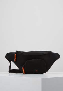 Superdry - FULL MONTANA BUM BAG - Bältesväska - black