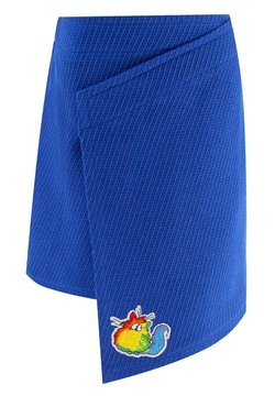 Evika Kids - WITH CAT - Jupe portefeuille - blue