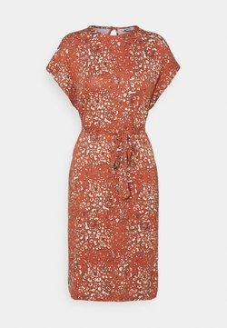 b.young - MALLI LEO DRESS - Jerseyjurk - etruscan red