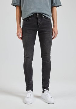 PULL&BEAR - JEANS SUPPERSKINNY FIT - Jeans Skinny Fit - dark grey