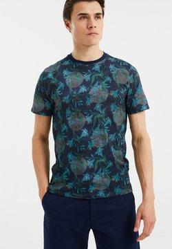 WE Fashion - Printtipaita - dark blue